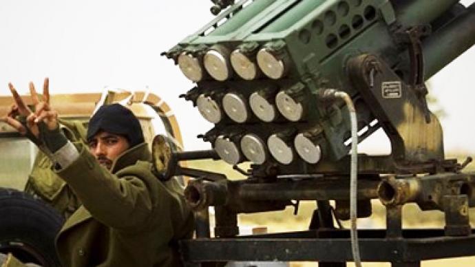 Report: Egypt arming Libyan rebels