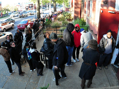 Election Day madness: Long lines, fraud phone calls (PHOTOS)
