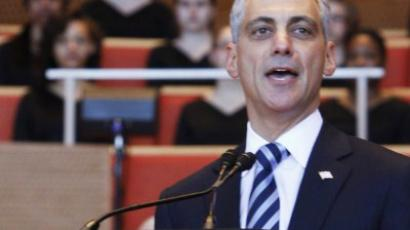 Rage Against the Machine guitarist scares Rahm Emanuel