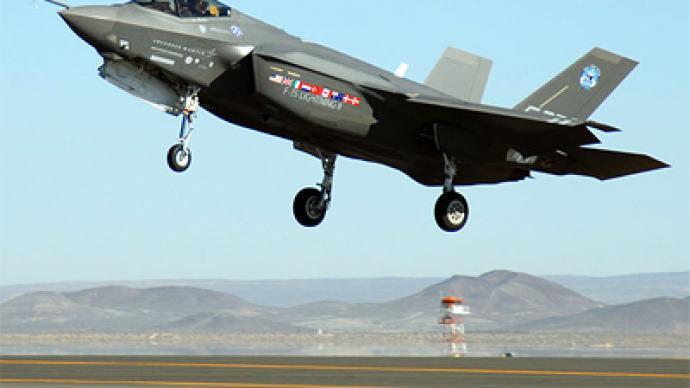 All F-35 and F-22s grounded