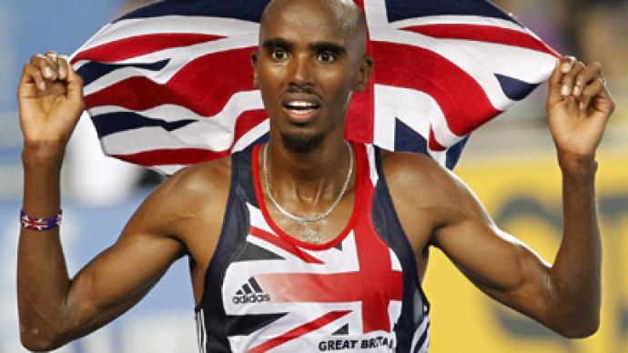 British Olympic hero held as suspected terrorist by US customs