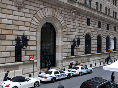 FBI and NYPD claim to have thwarted planned bombing of Federal Reserve in New York City