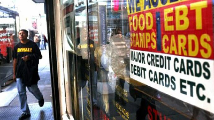 America becomes a food stamp nation