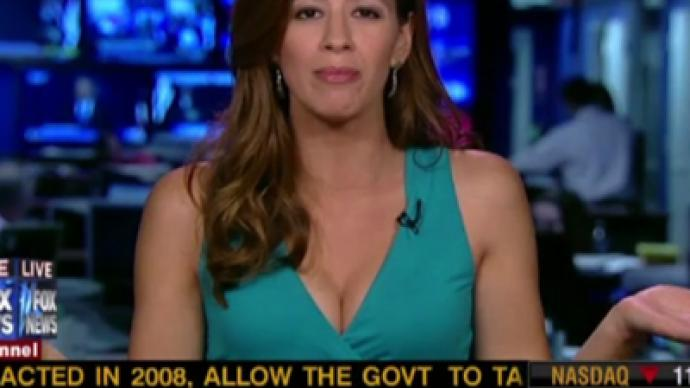 Fox News hits a new low - this time with cleavage