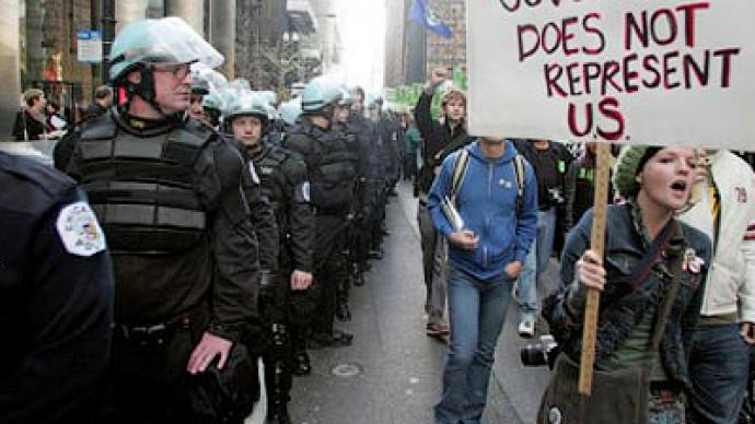 Hardcore security: US prepared to battle protesters at G8 and NATO summits