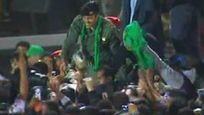 Gaddafi's son toured America as guest of US government