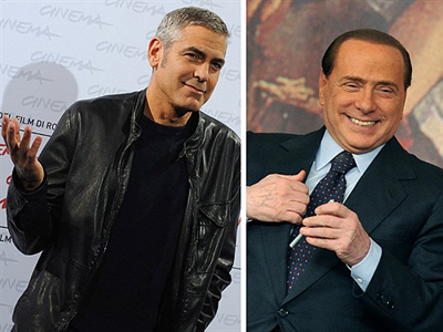 George Clooney to testify on behalf of Berlusconi?