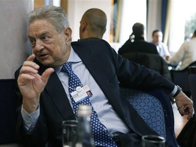 George Soros gets violent in bed