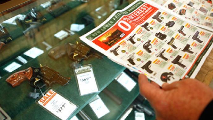 Gun sales shoot up during Black Friday