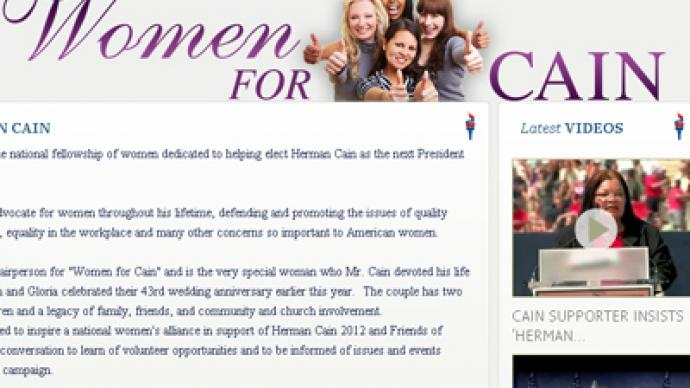 Bizarre 'Women for Herman Cain' campaign