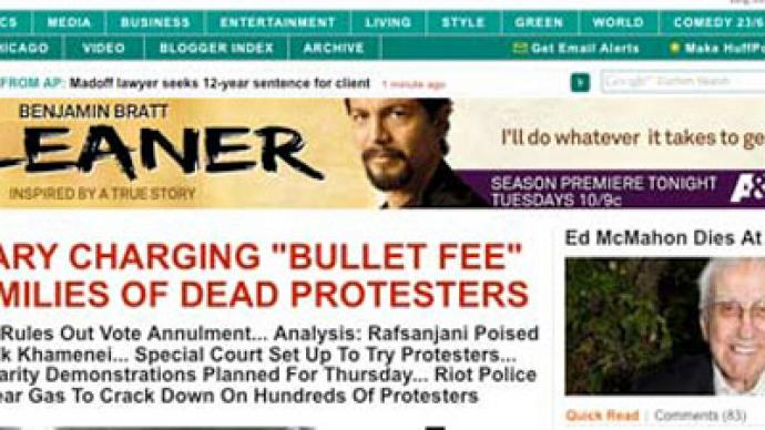 Huffington Post blamed for murdered doctors in Pakistan
