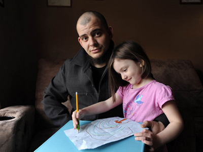 Dad goes to jail for 4-year-old daughter's drawing