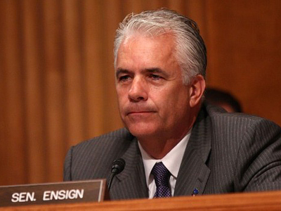 Sen. John Ensign to resign following sex scandal
