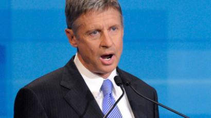 GOP unleashes attacks on Libertarian presidential candidate