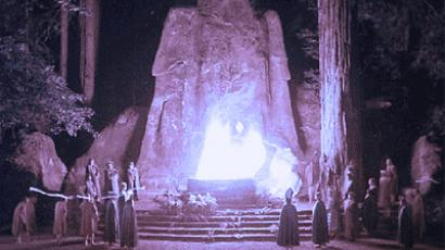 Occupy protesters take on Bohemian Grove