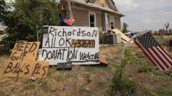 American hero denied aid for helping tornado victims