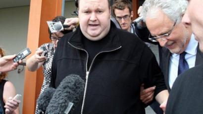 Megaupload's Kim web-surfing again