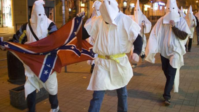 Woman set ablaze in Louisiana KKK related attack