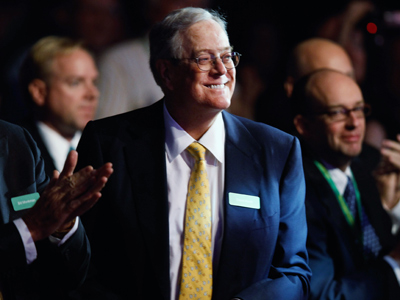 Koch brothers threaten to fire employees if Obama wins