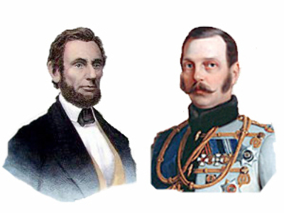 Letters between liberators: Lincoln and Aleksandr II