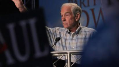 Ron Paul Mania at University of Maryland