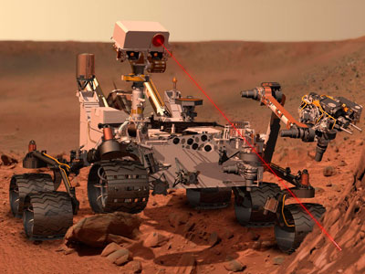 Mars discovery, or screw? NASA rover spots 'bright object'