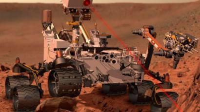 NASA's 'curious' rover fires high-tech laser beam on Mars mission