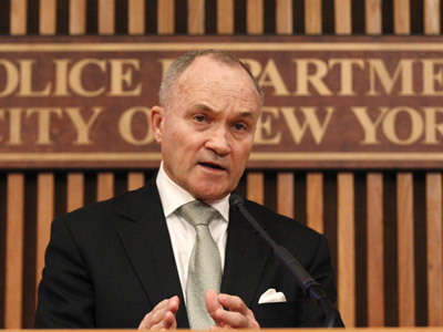 Obama hints NYPD Commissioner Kelly could head Homeland Security