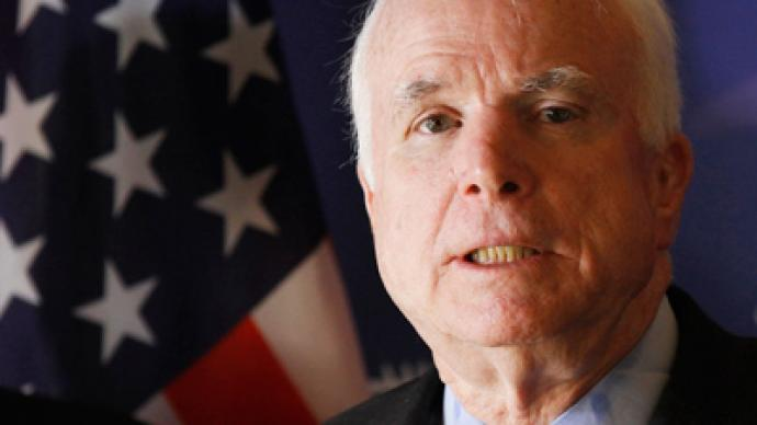 McCain sides with Netanyahu against top US general