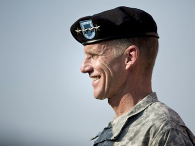 McChrystal returns to public service