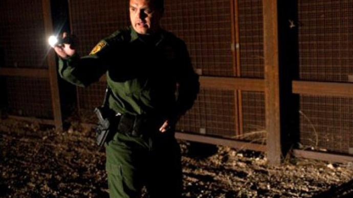 Caught on tape: Chilling new video of US border patrol beating immigrant to death