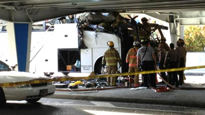 Second person dies, three others in critical condition after Miami bus airport crash