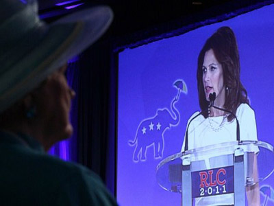 Michele Bachmann compares herself to infamous sodomite, rapist and killer