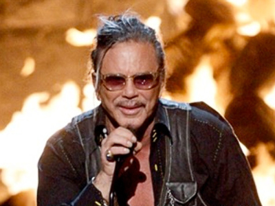 Mickey Rourke: Watch your language!