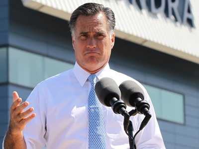 Crowd boos as Romney slams 'Obamacare'