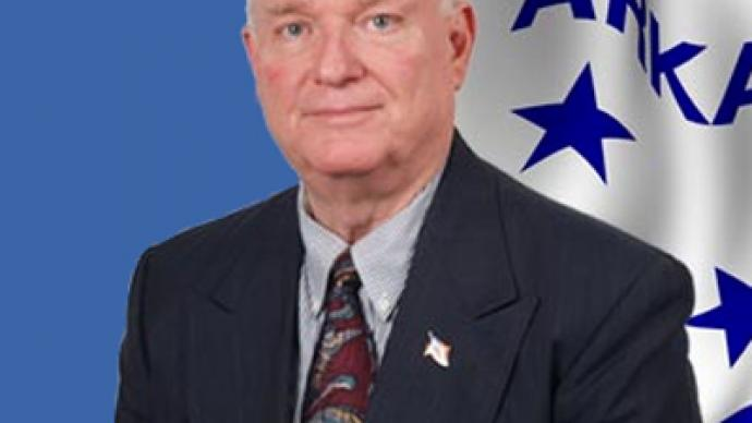 Pro-slavery lawmaker from Arkansas labels his opponents as Nazis