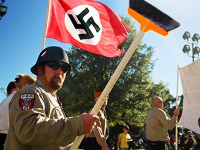Neo-Nazis fight litterbugs in Mid West