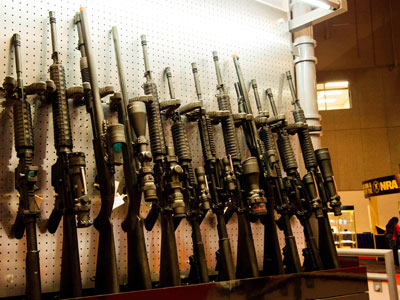 Mentally ill murderer gets weapons permit and buys arsenal of guns