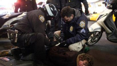 Occupy 4 Jobs protesters gather in New York