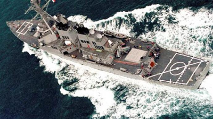 US Navy sends warships to North Korean shores
