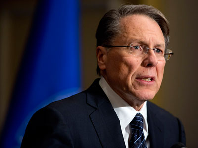 NRA rebuts Obama's inaugural address