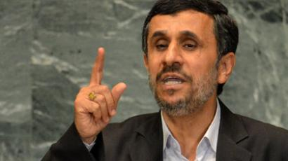 American election a 'capitalist battleground' – Ahmadinejad