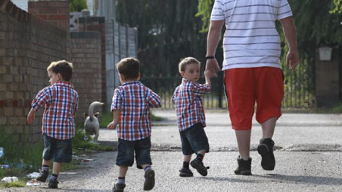 Man-cession: number of stay-at-home dads has doubled
