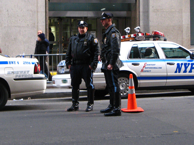 Bloomberg blows up bomb scare to distract from OWS?
