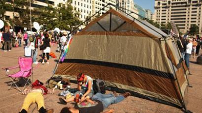 Occupy Wall Street: major protest against minority rule