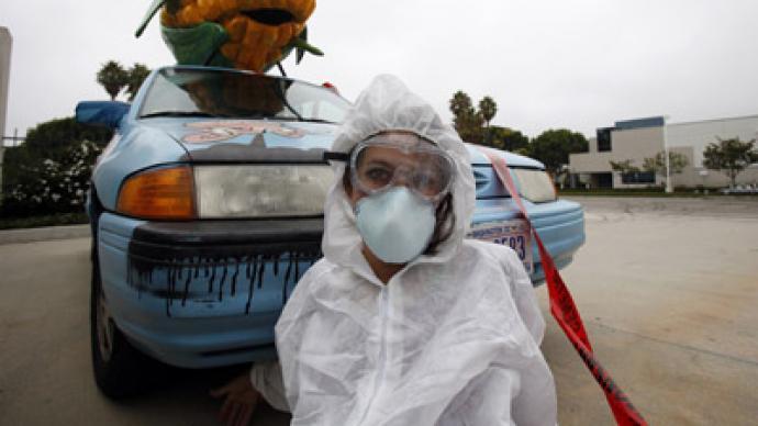 9 arrested as anti-GMO activists block Monsanto site in California