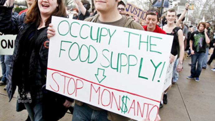 Occupy Monsanto vs genetically modified Congress