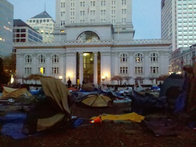 Cops crack down on Occupy San Francisco; 70 arrested