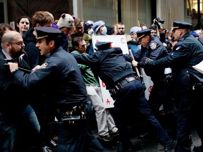 Bloomberg's office admits to arresting journalists for covering OWS