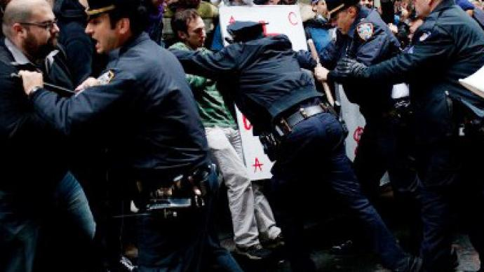 OWS Day of Action: Police vs People (PHOTO, VIDEO)